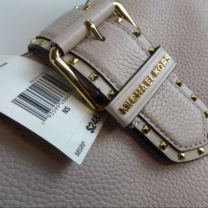 Michael Kors Small Lillian Buckle Crossbody Bag
